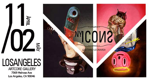ARTCOREGALLERY, 7569 Melrose Ave, LOSANGELES, CA 90046 • April 11 / May 02
