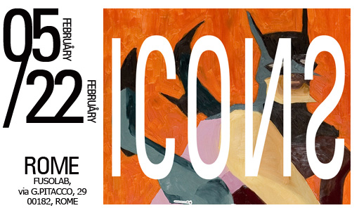 FUSOLAB, via G.Pitacco, 29, Rome 00182 • February 05 / February 22 • vernissage February 06, 21-24pm